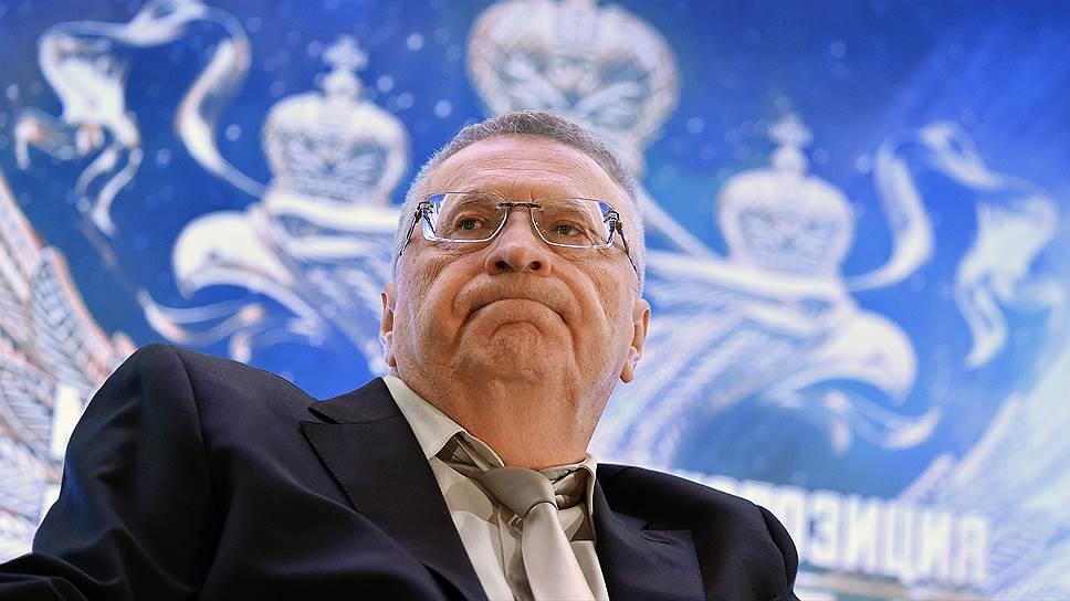 Зачем лидер ЛДПР снова и снова баллотируется в президенты