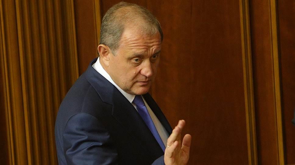 Последний председатель Совета министров украинского Крыма Анатолий Могилев