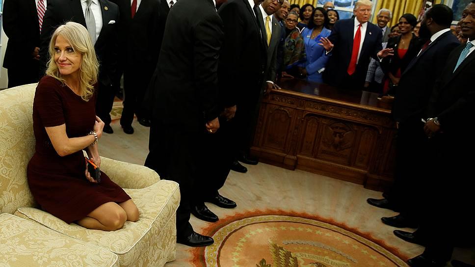 За что любят и ненавидят советника президента США Келлиэнн Конуэй