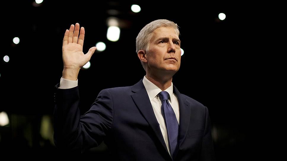 Назначение Нила Горсача может нарушить равновесие между консерваторами и либералами в Верховном суде США на долгие годы