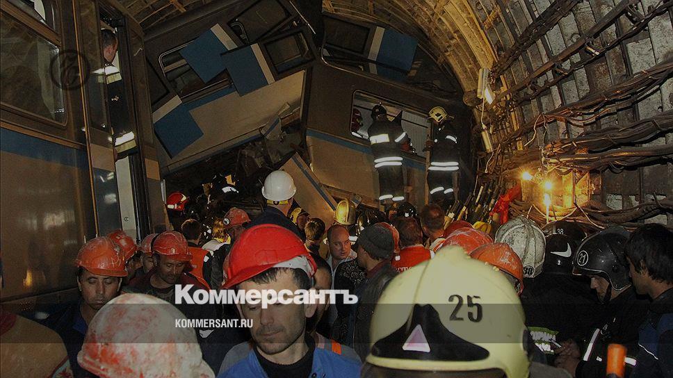 22 человека погибли в результате аварии в московском метро