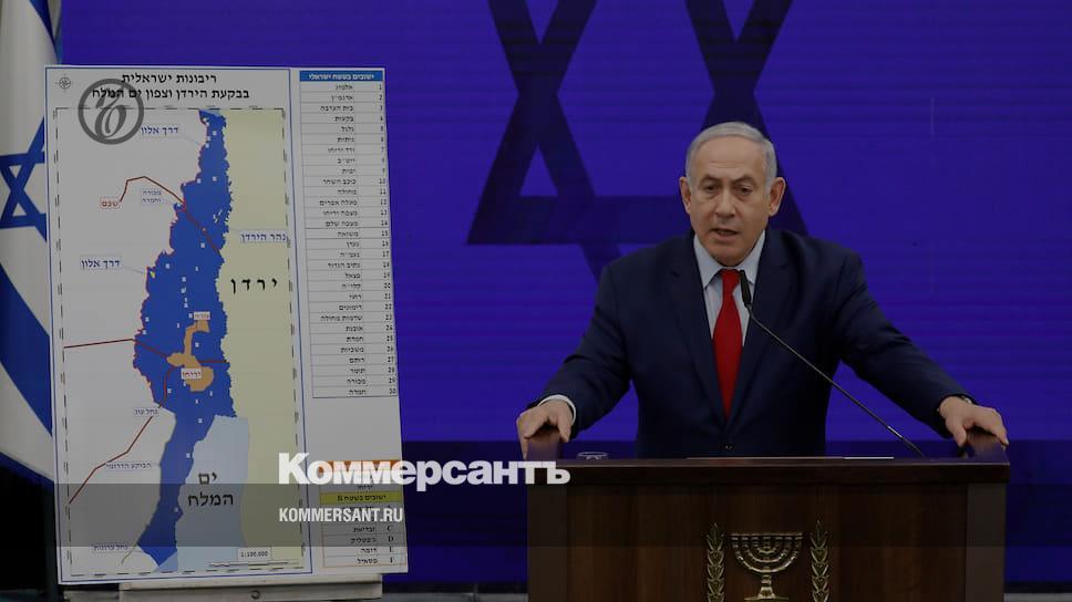Биньямин Нетаньяху пообещал аннексировать Иорданскую долину