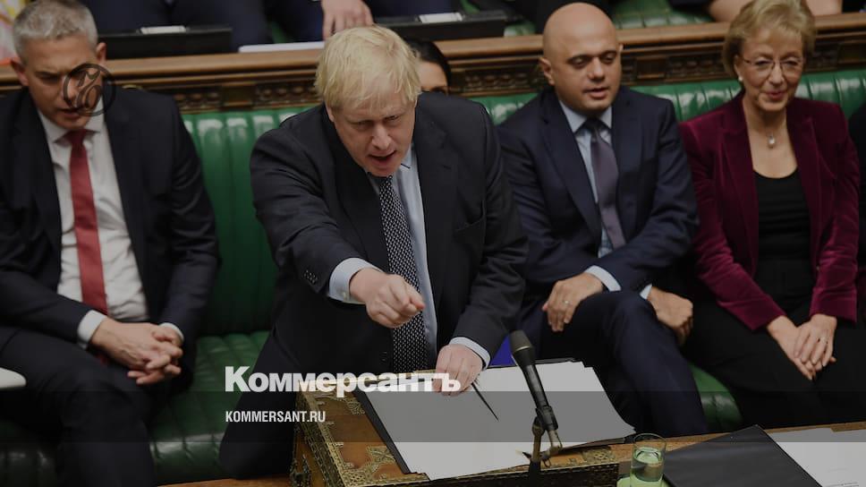 Джонсон не стал подписывать письмо об отсрочке «Брексита»