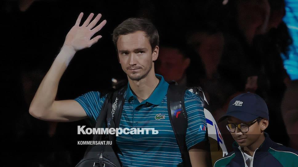 Даниил Медведев не выступит в финальной части Кубка Дэвиса