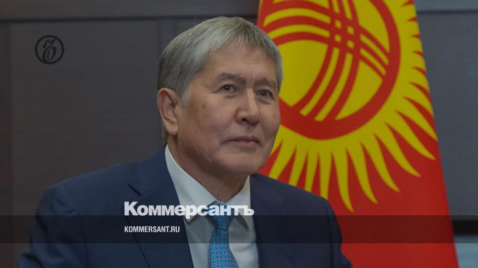 Эксперт в связи с задержанием экс-президента Атамбаева