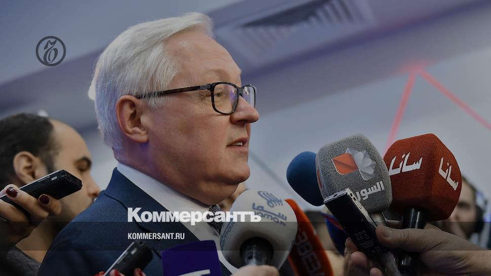 Рябков: внешняя политика России после смены правительства не изменится