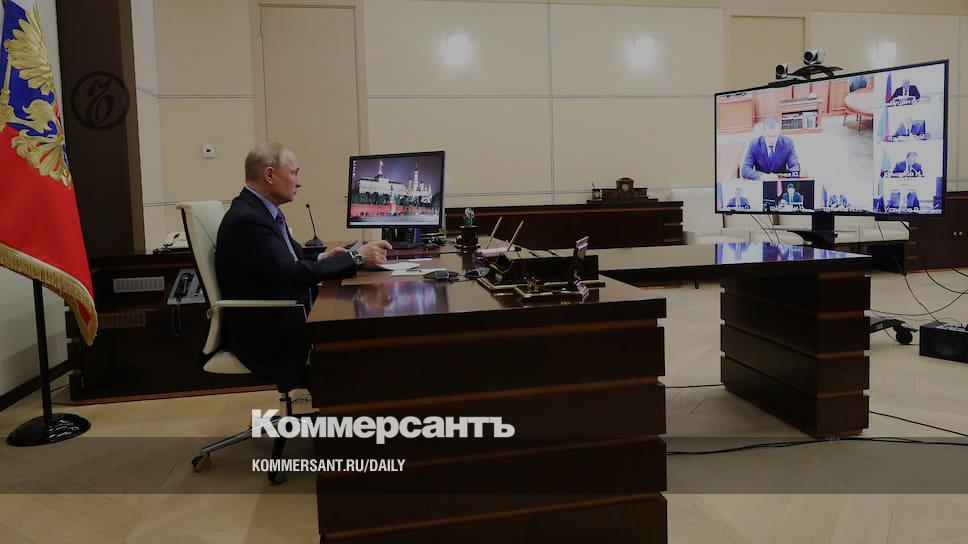 Владимир Путин провел консилиум с полпредами