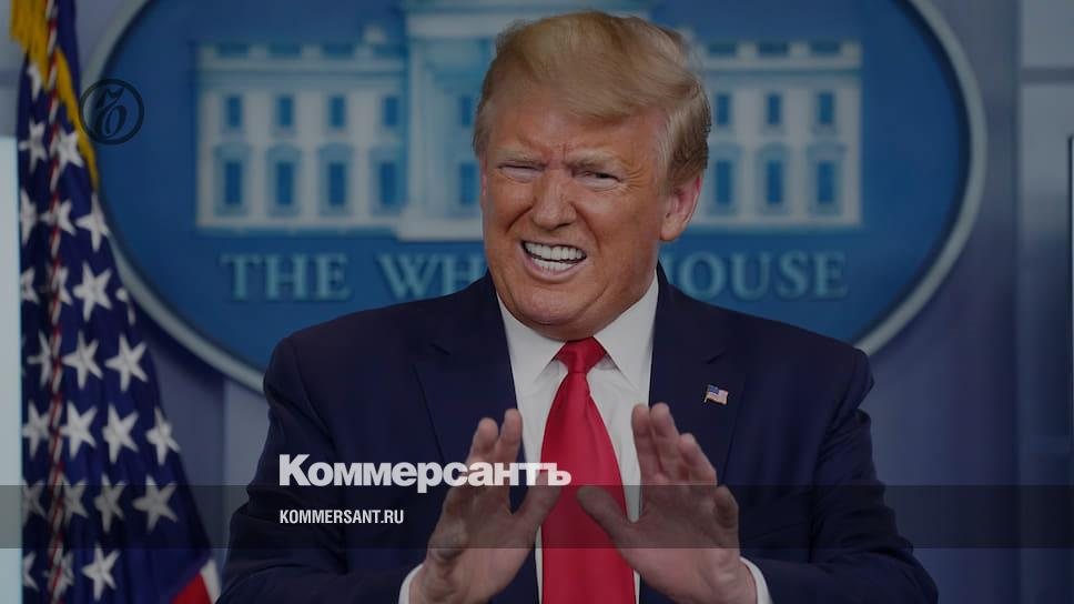 Трамп раскритиковал действия ВОЗ в связи с коронавирусом