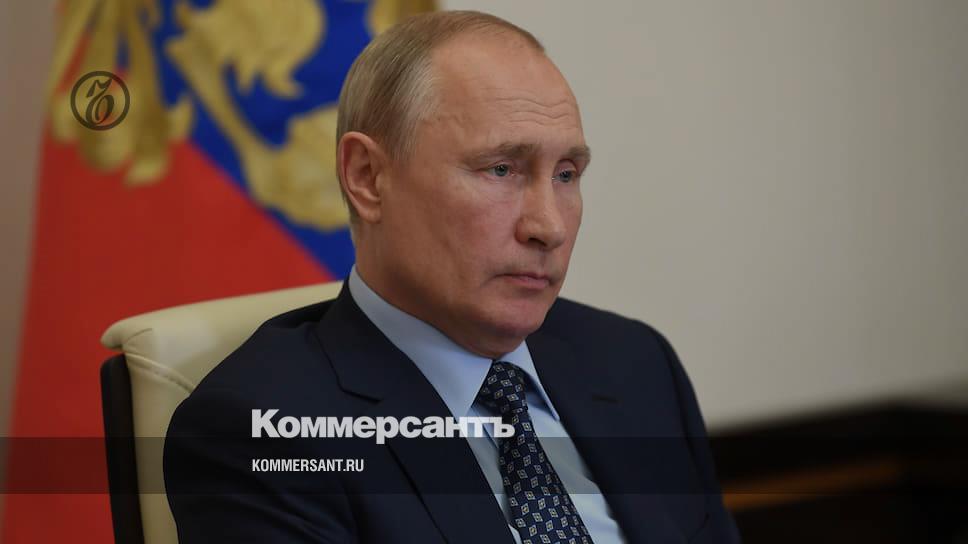 Путин предупредил о второй волне эпидемии коронавируса осенью