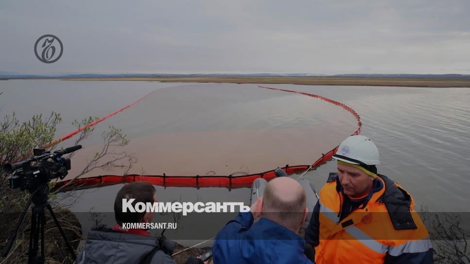 В Москве узнали об аварии в Норильске через полчаса