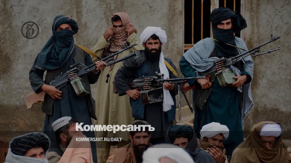Талибам пришили «руку Москвы»