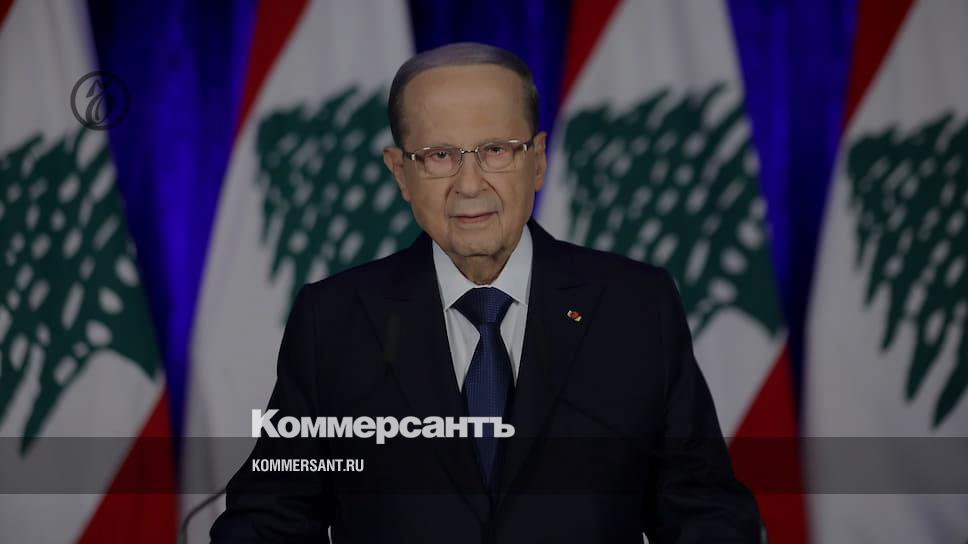 Президент Ливана допустил причастность «внешних сил» к взрыву в порту