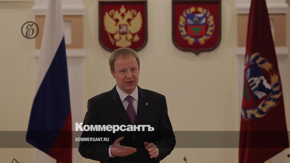 Губернатор Алтайского края Томенко заразился коронавирусом
