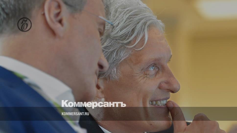 Греф попросил Тинькова удалить шутку про свое назначение премьером