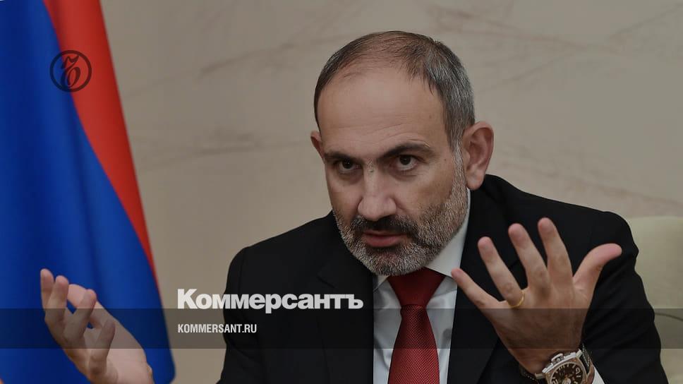 Премьер-министр Армении Пашинян обратился к нации