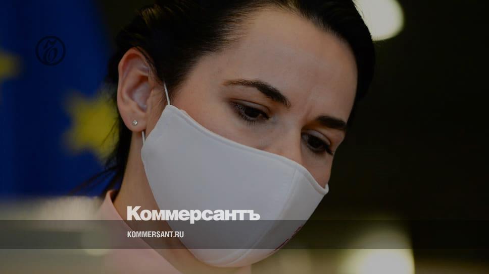 Тихановская заявила об ущербе для белорусов от возможных экономических санкций