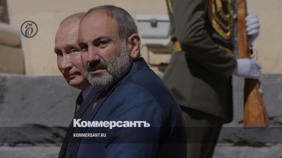 Пашинян обсудил с Путиным обострение конфликта в Нагорном Карабахе