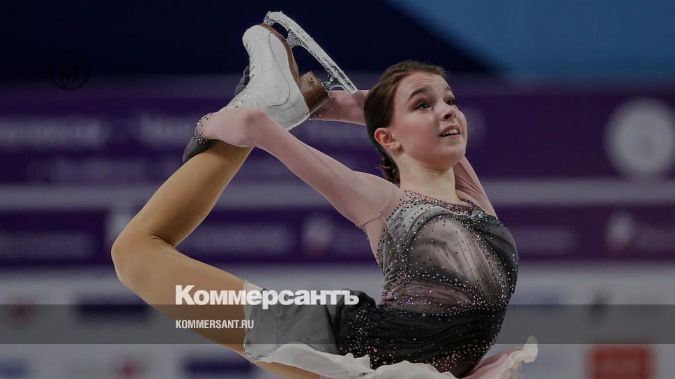 Анна Щербакова доболела к золоту — Спорт — Коммерсантъ