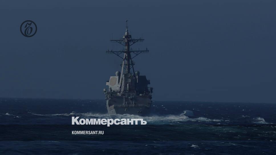 США отрицают обвинения России по инциденту с эсминцем Chafee в Японском море