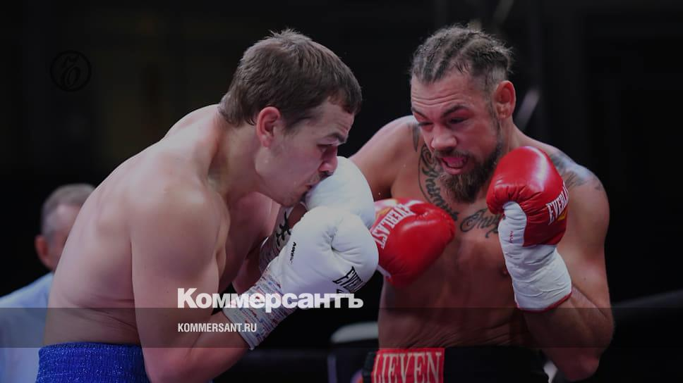 Боксер Чудинов победил Миттага техническим нокаутом