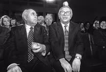 Первый президент СССР Михаил Горбачев не был членом партии «Яблоко», но Владимиру Лукину, одному из ее основателей, симпатизировал