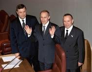 В Госдуме Владимиру Путину рады были всегда