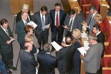 Далеко не всегда депутатам удавалось подробно поработать над законопроектами — иногда их приходилось принимать с листа