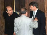 Борис Березовский был депутатом третьего созыва всего несколько месяцев, потом он сложил полномочия, а вот Герман Греф оставался министром экономического развития еще долгие годы