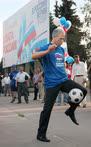 Борис Грызлов владел мячом так же, как и словами