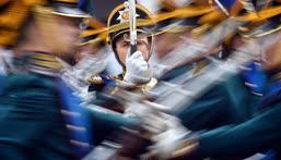 Июнь. Московская область. Открытие первого чемпионата мира по практической стрельбе в парке «Патриот»