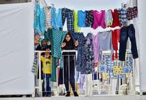 Июнь. Турция. Лагерь сирийских беженцев в Османие