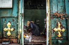 Июль. Санкт-Петербург. Склеп затворника Матвея Татомира в Александро-Невской лавре