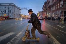 Декабрь. Санкт-Петербург. Невский проспект