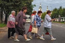 Our photographer visited the Yaroslavl outback at the confluence of three rivers: Volga, Sheksna and Cheryomukha - in the ancient Russian city of Rybinsk.