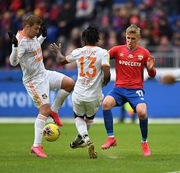Russian Premier League (RPL). Matchday 20. Match between CSKA (Moscow) and Ural (Ekaterinburg) at the VEB Arena stadium.