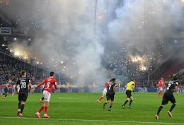 Olimp Russian Cup. match between Spartak and CSKA at the Otkritie Arena stadium.