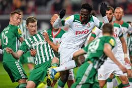 Russian Premier League (RPL). Matchday 21. Match between Lokomotiv (Moscow) and Akhmat (Grozny) at the RZD Arena stadium.