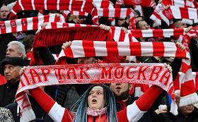 Russian Premier League (RPL). Matchday 21. Match between Spartak (Moscow) and Krasnodar (Krasnodar) at the Otkritie Arena stadium.