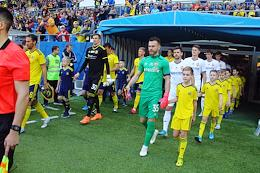 Russian Premier League (RPL). Matchday 21. Match between CSKA (Moscow) and Rostov (Rostov-on-Don) at the Rostov Arena stadium.