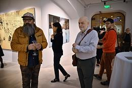 Opening of New World, an exhibition by Semyon Faibisovich in the GUM-Red-Line gallery.
