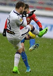Russian Premier League (RPL). Matchday 22. Match between CSKA (Moscow) and Ufa (Ufa) at the VEB Arena stadium.
