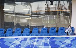 Russian Football National League 2019-2020. Matchday 27. Match between Baltica (Kaliningrad) and Armavir (Armavir) at the Kaliningrad stadium was held without spectators due to the 'unfavorable epidemic situation.'