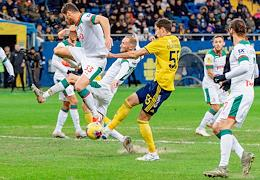 Russian Premier League (RPL). Matchday 22. Match between Rostov (Rostov-on-Don) and Lokomotiv (Moscow) at the Rostov Arena stadium.