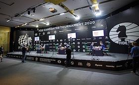 International Chess Federation (FIDE) Candidates' Tournament at the Hyatt Hotel.