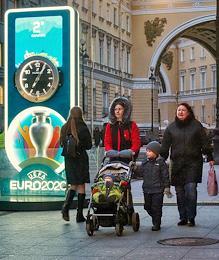 Euro 2020 Countdown Clock.
