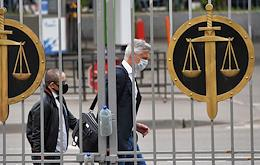 Moscow District Court's hearing on the appeal against the house arrest of Baring Vostok founder Michael Calvey.