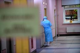 Moscow Region during self-isolation regime caused by the danger of the coronavirus COVID-19 spread. Hospital for COVID-19 patients in Domodedovo.