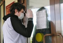 Trial of the criminal case against member of the New Greatness youth group Pavel Rebrovsky, convicted under the article on extremist group creation and released on his own recognizance after his conviction was overturned, in the Lublinsky District Court.