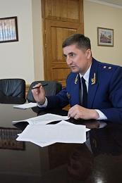Prosecutor of the Saratov Region Sergey Filipenko.