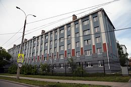 Building of the Samarsky Cadet Corps of the Russian  Ministry of Internal Affairs.